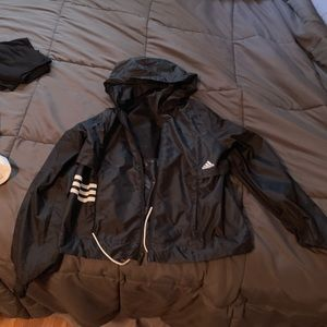 Women's small adidas rain coat